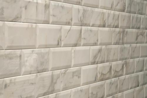 4 Quot X 8 Quot Mainzu Ceramica Doric White Beveled Subway Tile