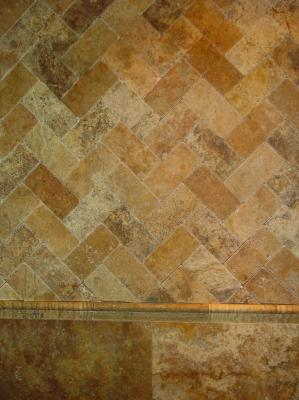 Tumbled Stone Look Ceramic Tile