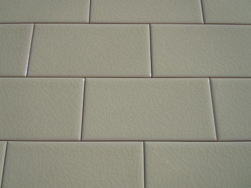 Bone subway tile