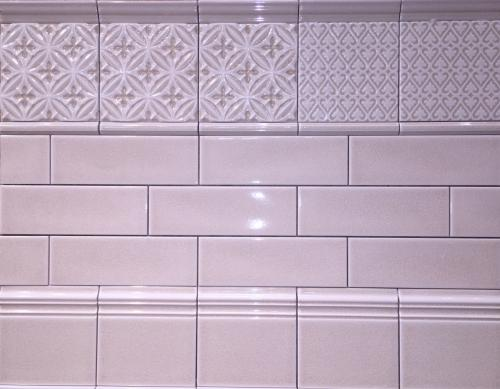 Adex Ocean Collection Sand Dollar Crackle Subway Tile