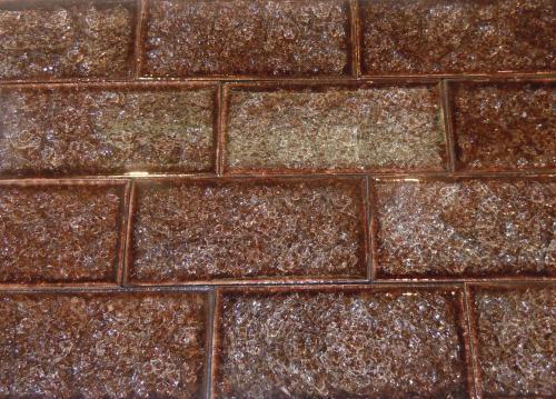 3 Quot X6 Quot Subway Crackle Glass Tile 29 Earth