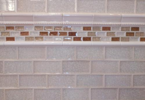 3 Quot X6 Quot Subway Crackle Glass Tile Bp Bianco Perla With
